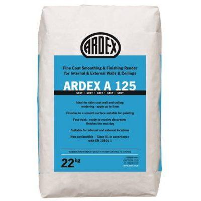 Image for ARDEX A 125 Fairing Coat & Fine Repair Mortar