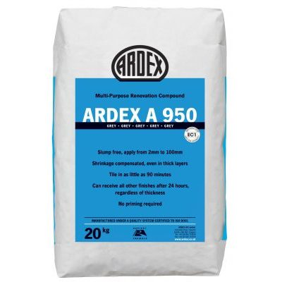 Image for ARDEX A 950 High Build Repair Mortar