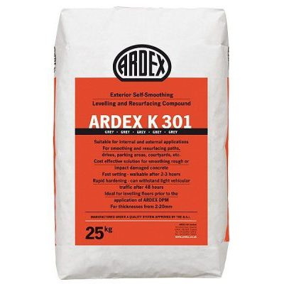 Image for ARDEX K 301 Exterior Self-Levelling Concrete Resurfacing Compound