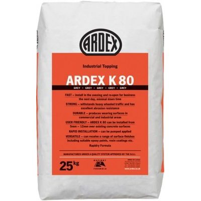 Image for ARDEX K 80 Rapid Drying Industrial Topping/Wearing Surface
