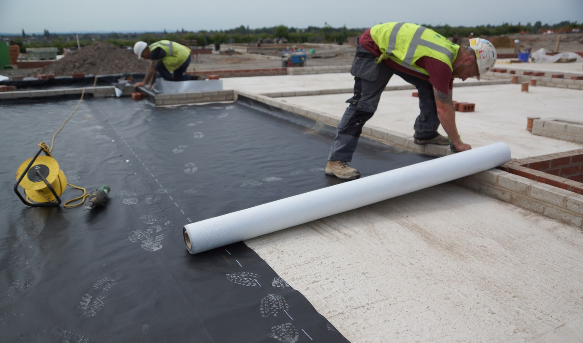 Structural Waterproofing and Ground Gas Protection Membrane Barriers Midlands & UK.